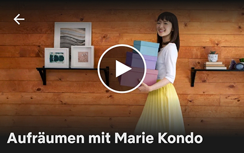 Aufraeumen mit Marie Kondo_Netflix_Screenshot