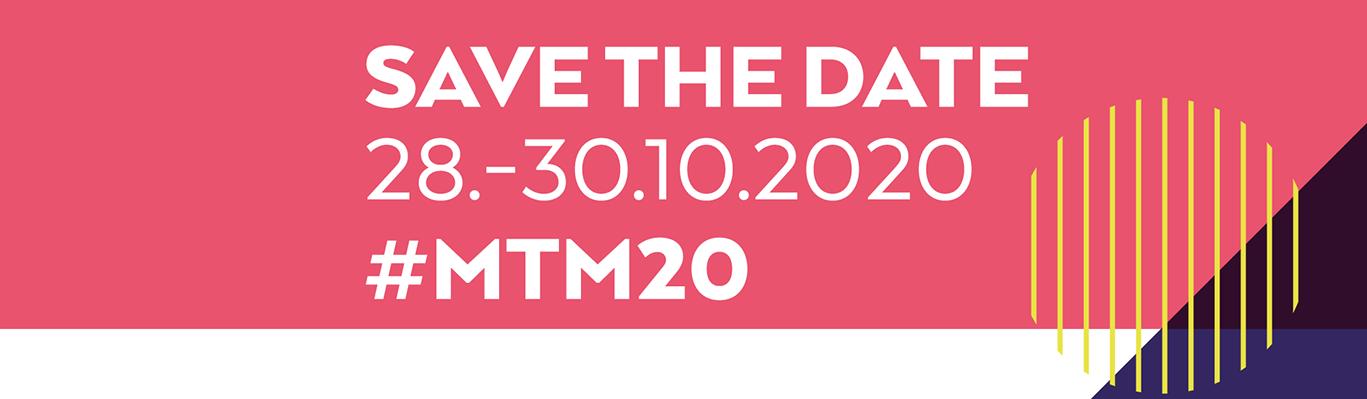 Nach den Medientagen ist vor den Medientagen: Der Termin für #MTM20 steht.