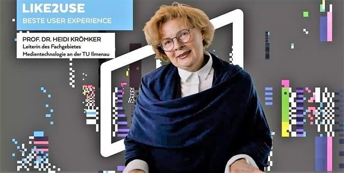 Mit viel Spaß bei der Jury-Arbeit: Heidi Krömker.