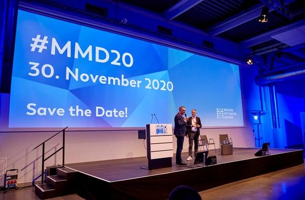 Save the Date: Den nächsten #MMD veranstaltet das MedienNetzwerk Bayern am 30. November 2020.