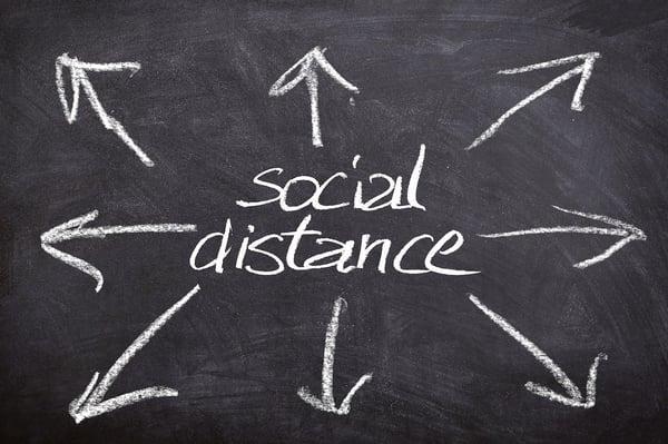 Social Distance wird zum feststehenden Begriff (Gerd Altmann/Pixabay).